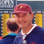 Dan Vukelich at the 1999 British Open