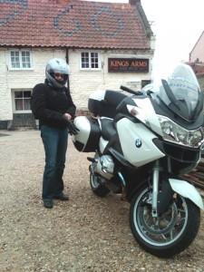 Superbike RT 1200 SE rental bike in England