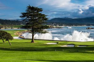 No 18 Green Pebble Beach