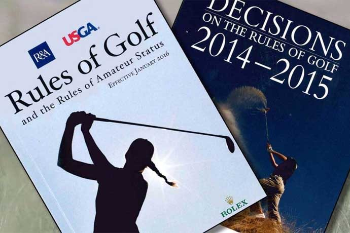 Rules of Golf, Decisions of the Rules of Golf