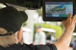 Shark Experience in a Club Car golf cart