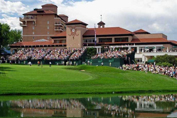 The Broadmoor is the site of the 2018 US Senior Open