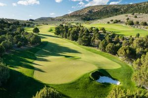 Aerial View of Red Ledges Golf Club