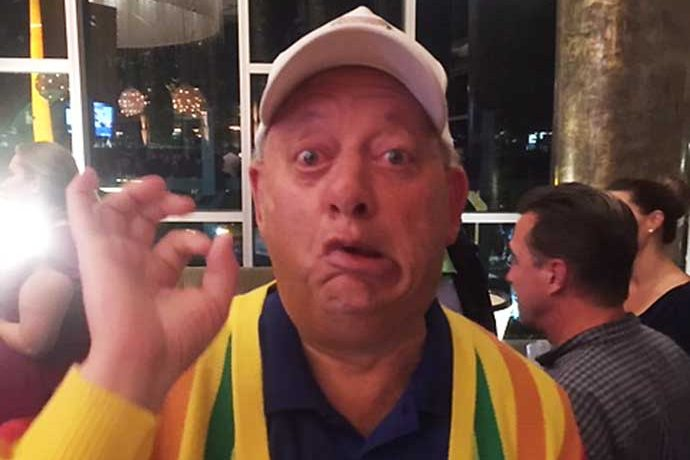 Rodney Dangerfield impersonator Marc Melzer