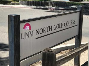UNM North GC sign