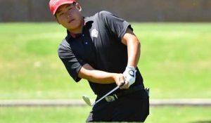UNM Lobo golfer Sam Choi