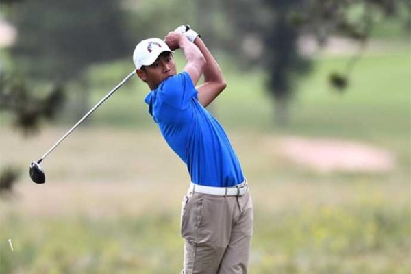 Ryo Harada Day 2 leader of the New Mexico-West Texas Amateur
