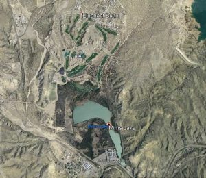 Google Earth view of Sierra del Rio