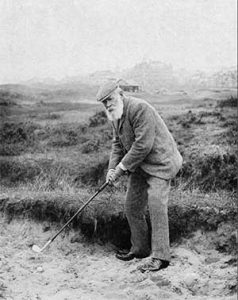 Old Tom Morris from the USGA Shickler collection of the USGA
