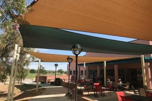 Ladera Golf Course patio