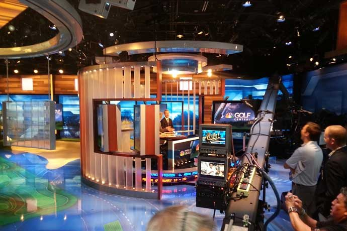 Golf Channel Studio