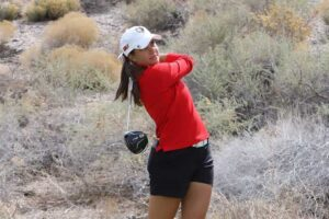 Myah McDonald, Lobo golfer, new mexico golf news notebook