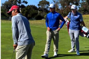 College Golf Experience golf camp attendees