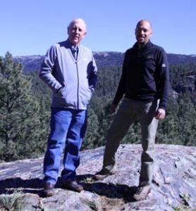 Hale Irwin and Todd Schoeder