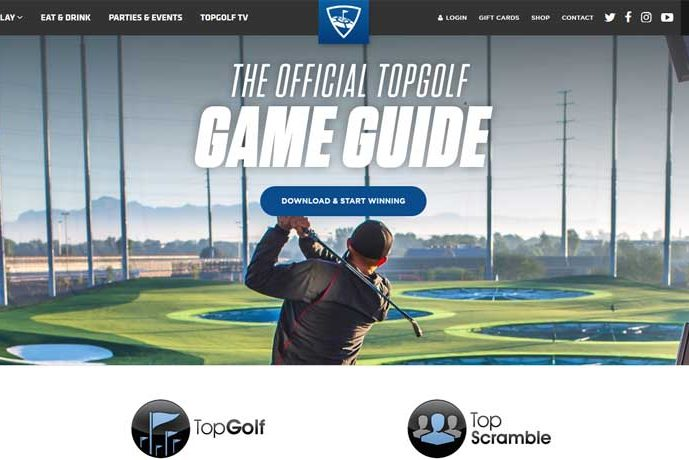 TopGolf screenshot