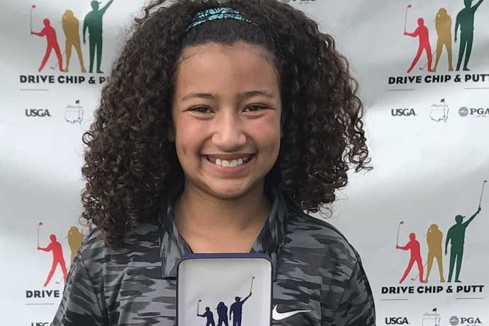 Callia Ward, Albuquerque 11-year-old golfer