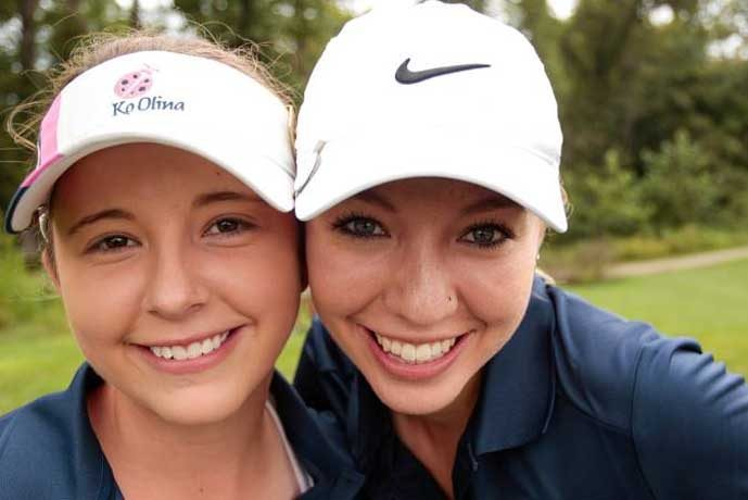 Dominique and Jacquelyn Galloway, competitors in past Albuquerque City Women's Golf Championship