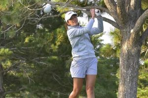Lady Lobo Golfer Ingrid Gutierrez. whose team will hold a golf clinic fundraiser on Saturday, April 7, at the UNM Championship Golf Course