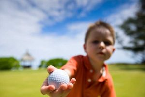 Sun Country Junior Golf Tour kid golfer
