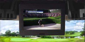 Golf-TV-in-Shark-Experience-cart