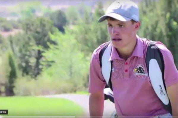 New Mexico State Championship 6A Boys Winner Nolan Gillihan