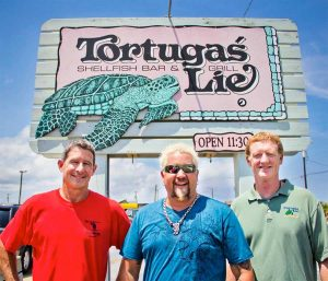 Tortuga's Lie Shellfish Outer Banks N.C.