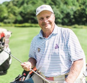 World Golf Hall of Fame inductee Dennis Walters