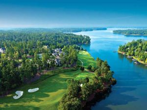 Reynolds Lake Oconee National Course, one of many golf discounts