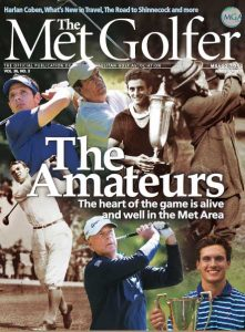 Cover of the June-July 2018 issue of The Met Golfer