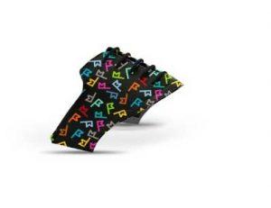 Jack Grace golf shoe saddle in pattern