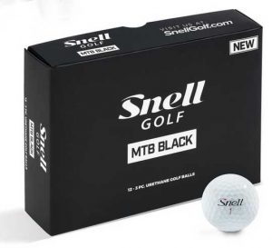 Dozen Snell golf balls
