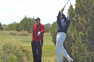 David Muttitt and Steve Manning at the Sun Country PGA Mazek Matches