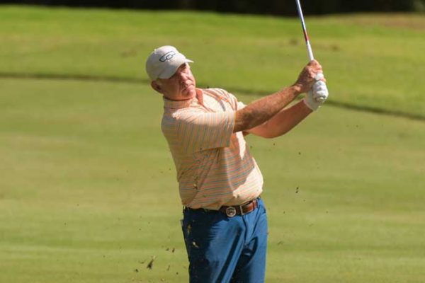 Brad Lardon at Senior PGA, by Hailey Garrett