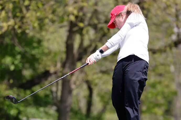 Lobo golfer